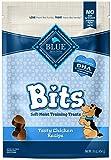 Blue Buffalo BLUE Bits Natural Soft-Moist Training Dog Treats, Chicken Recipe 16-oz bag