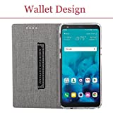 LG Stylo 4 Case,PU Leather Wallet Slim Thin Case