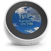 Amazon Echo Spot - Un altoparlante intelligente dotato di schermo, con Alexa - Bianco