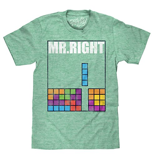 Tetris Mr. Right T-Shirt - up to 2XL