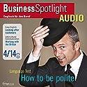 Business Spotlight Audio - Working with the British. 4/2014: Business-Englisch lernen Audio - Geschäftsbeziehungen mit Briten Hörbuch von  div. Gesprochen von:  div.