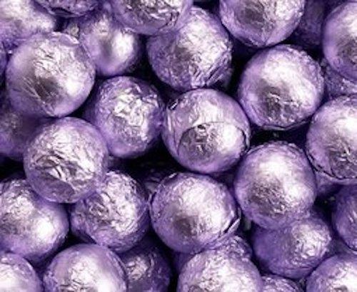 Lavender Foiled Milk Chocolate Balls 5LB Bag by The Nutty Fruit House by The Nutty Fruit House (Image #1)