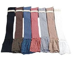 Sept.Filles Socks Women\'s Thigh High Stockings Packs of 2(Blue+Red)
