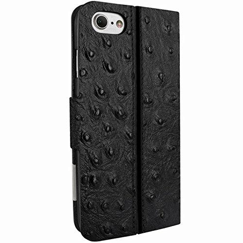 Piel Frama U7 62AVB Etui pour iPhone 7 Autruche Noir