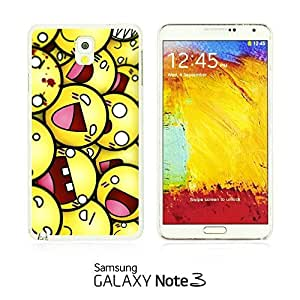 OnlineBestDigitalTM - Funny Pattern Hardback Case for Samsung Galaxy Note 3 N9000 - Funny Smily Faces