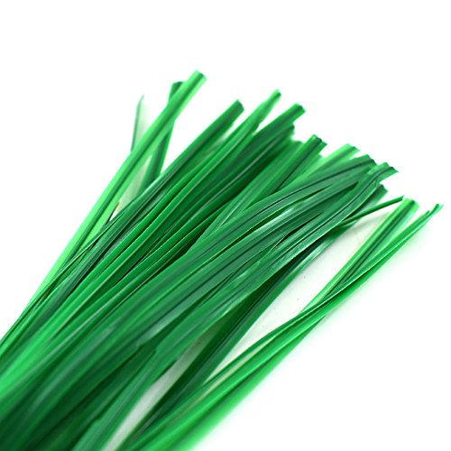 100 x Garden Green Plastic 100mm (4