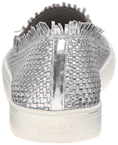 Fashion Randall Silver Mirror Sneaker woven Mazzy Loeffler Leather Women's Tw7qz