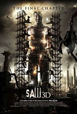 """Saw 3D - 13""""X20"""" Original Promo Movie Poster 2010"""