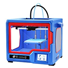 Product Description: X-one2 is complete set 3d printer, simple unboxing operation,It will not cost more than 1 hour from unboxing to printing.Double layer metal with spray paint technology makes the 3d printer strong enough and printing proce...