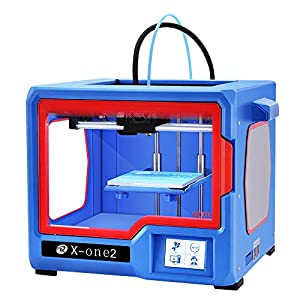 QIDI Technology X-one2 Single Extruder 3D Printer, Metal Frame Structure,Platform Heating 3D Printers