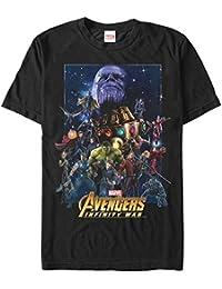 Marvel Men's Avengers: Infinity War Character Collage T-Shirt