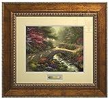 Bridge of Faith - Thomas Kinkade Prestige Home Collection (Gold Frame)