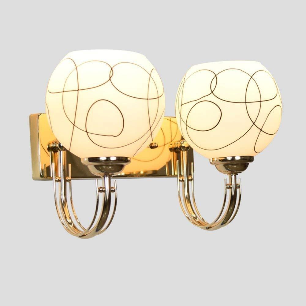 Nouler Schnurlose, einfache und Vintage LED Wandleuchte Schlafzimmer Nachttischlampe Laterne Walking Lounge Treppe (Stil  Single Head)