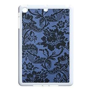 Blue Flowers DIY Cover Case for Ipad Mini,personalized phone case ygtg612729 wangjiang maoyi