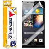 [3-PACK] DeltaShield BodyArmor – Huawei Ascend P6 Screen Protector – Premium HD Ultra-Clear Cover Shield with Lifetime Warranty Replacements – Anti-Bubble & Anti-Fingerprint Military-Grade Film