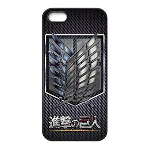 SKULL Attack on Titan signal Cell Phone Case for Iphone 5s