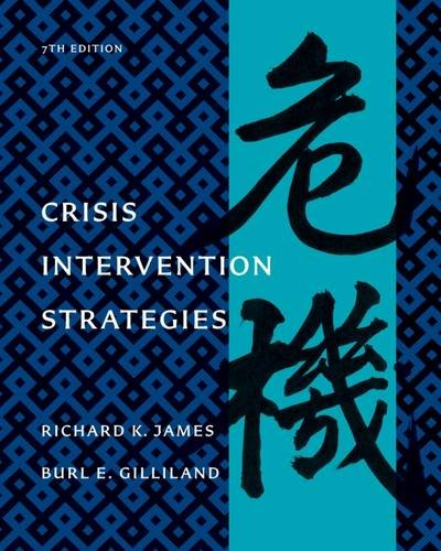 Crisis Intervention Strategies Text
