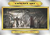 2015 art ca - 2015 Topps Star Wars Journey to The Force Awakens Concept Art #CA-9 Darth Vader