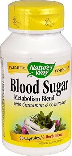 Blood Sugar Manager with GTF Chromium 90 Capsules
