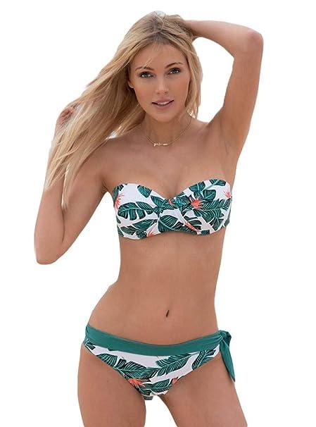 c47d32222a1e YSABEL MORA - Bikini Bandeau Copa C Mujer