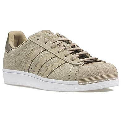 competitive price d1fbb 5a324 adidas Superstar W Damen Sneaker, S76768, Gr:40 2/3, Beige ...