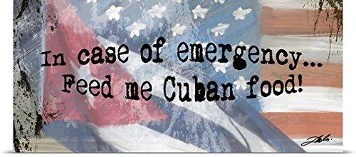 Tim Dardis Poster Print entitled Cuban Food