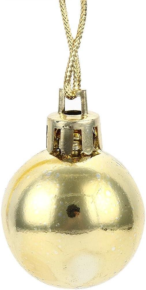TM Christmas Tree Decor Ball,Jchen 12PCS 30mm Christmas Xmas Tree Ball Bauble Hanging Home Party Ornament Decor