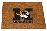 The Memory Company NCAA University of Missouri Colored Logo Door Mat, One Size, Multicolor