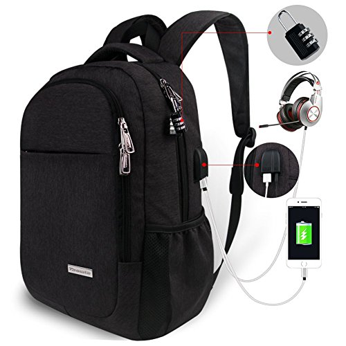 Travel Laptop Backpack,Tzowla Business Anti-theft Water-resi