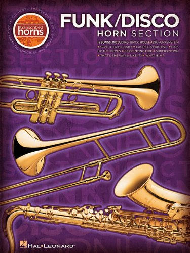 [Funk/Disco Horn Section Transcribed Scores] (Rock Horn Section)