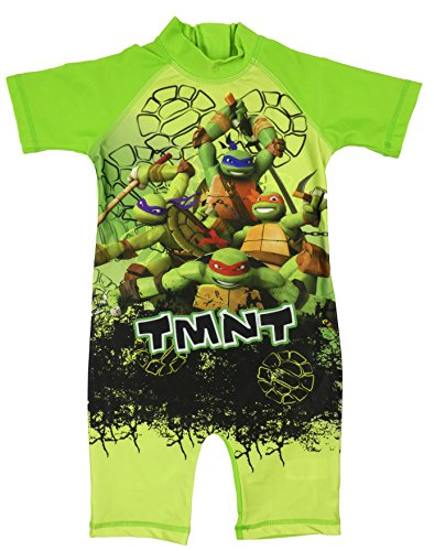 Boys Character All in One Surf Suit Good Coverage from UV Rays 1.5y to 4-5y (Teenage Ninja Turtles, 18-24 Months) ()