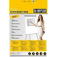 Bi-Office Bloc de papel para Pizarra Rotafolios, Euro