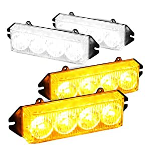Amazon Com High Wattage Front Grille 16 Led Emergency