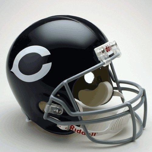 NFL Riddell Chicago Bears Navy Blue 1962-1973 Throwback Replica Full-Size Helmet by Riddell