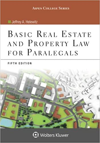 Basic real estate and property law for paralegals aspen college basic real estate and property law for paralegals aspen college 5th edition fandeluxe Image collections