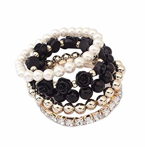 Bolayu Acrylic Shining Rhinestone Bracelet product image