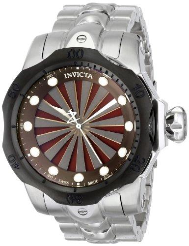 Invicta Men's 14602 Venom Analog Display Swiss Quartz Silver Watch