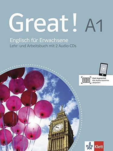 Great! A1 Lehr- und Arbeitsbuch, (inkl. 2 Audio-CDs)