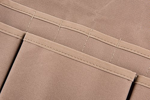 Tebery 600D Oxford Cloth Heavy Duty Work Apron, Adjustable and Durable Tool Aprons - Khaki by Tebery (Image #1)
