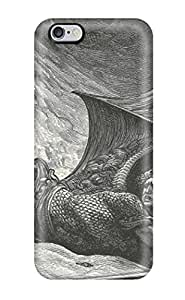 Tpu Fashionable Design Fallen Angel Rugged Case Cover For Iphone 6 Plus New
