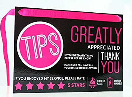 tipping uber or lyft drivers