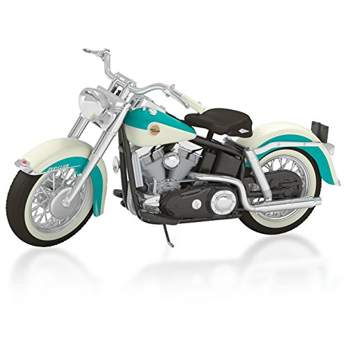 Harley-Davidson 1958 FLH Duo-Glide Motorcycle Ornament 2015 (Harley Duo)