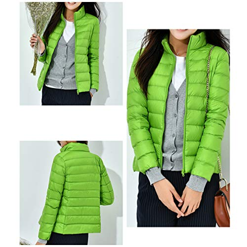 Fangcheng Light Green Plus Down Apple Jackets Stand Female Ultra Collar Slim Size Wear Parka Woman Parkas Short Coat 3XL gwprqCFg