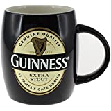 Ceramic Guinness Barrel Mug With Extra Stout Label, Black Colour