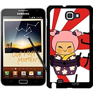 Funda para Samsung Galaxy Note GT-N7000 (I9220) - Ayame Kokeshi by Los dibujos de Alapapaju