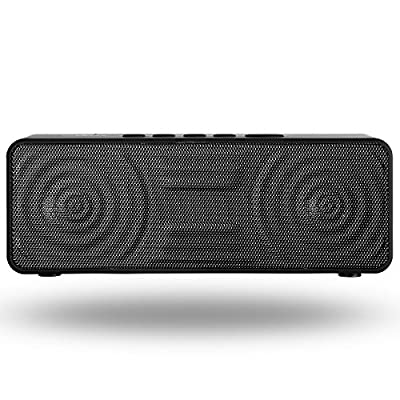 Bluetooth Speakers Venstar Wireless Speaker Portable Speakers Bluetooth 4.1, 10W (Dual 5W) Ultra Bass Strong Acoustic Drivers Up to 18 Hour Battery Life, High Definition Sound With Built-in Microphone