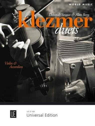 (Klezmer Duets: for violin and accordian (World Music) (German and English Edition) )