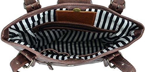 Gusti Pelle studio ''Rachel'' borsetta da donna tempo libero passeggio marrone 2M17-26-3