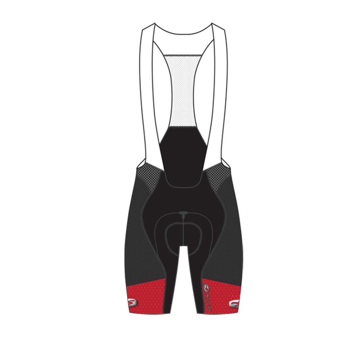 (キャノンデール / スゴイ)SUGOi サイクルパンツ RSE ビブショーツ B01COBIKWW X-Large|レッド(Chili Red) レッド(Chili Red) X-Large