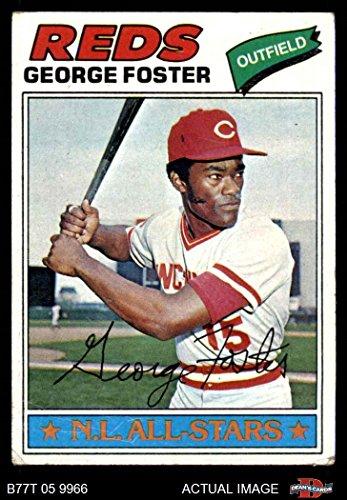 1977 Topps # 347 George Foster Cincinnati Reds (Baseball Card) Dean's Cards 2 - GOOD Reds